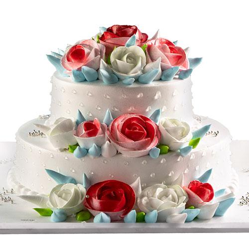 Snow White Wedding Cake